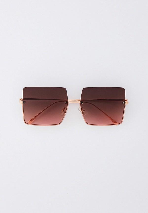 женские квадратные солнцезащитные очки marco bonne', розовые