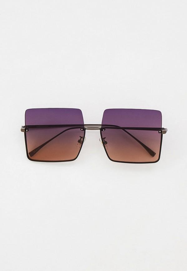 женские квадратные солнцезащитные очки marco bonne', серебряные