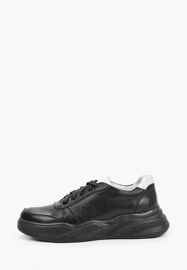 женские низкие кроссовки valley, черные