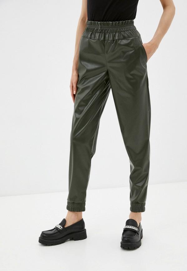 женские зауженные брюки dizzyway, хаки