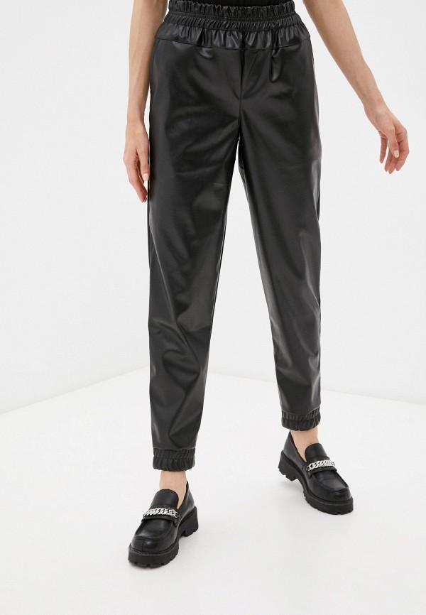женские зауженные брюки dizzyway, черные