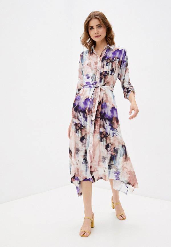 женское платье-рубашки dizzyway, разноцветное