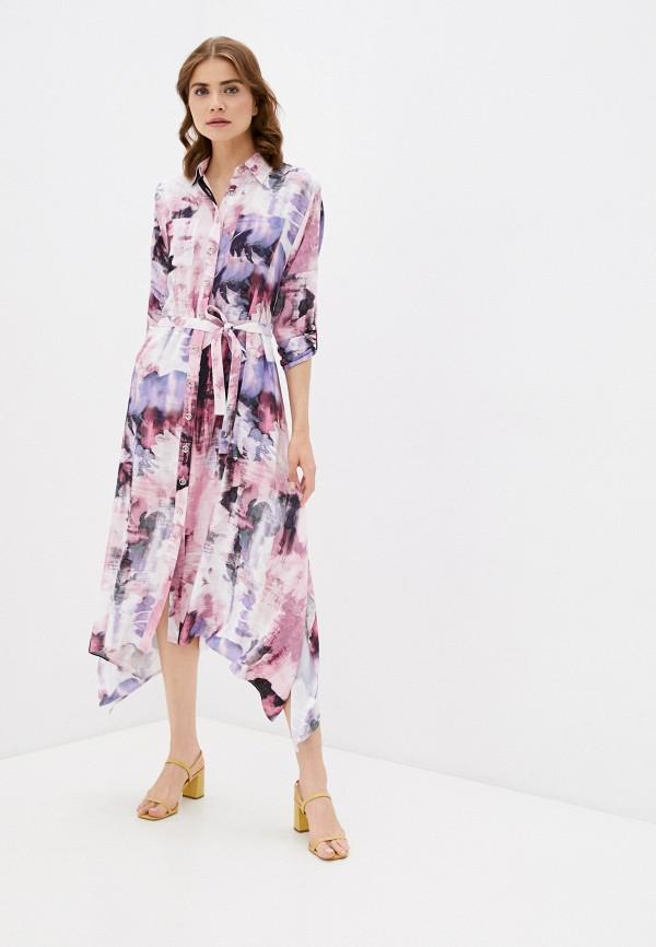 женское платье-рубашки dizzyway, фиолетовое
