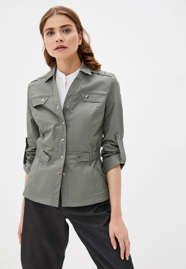 женская легкие куртка dizzyway, хаки