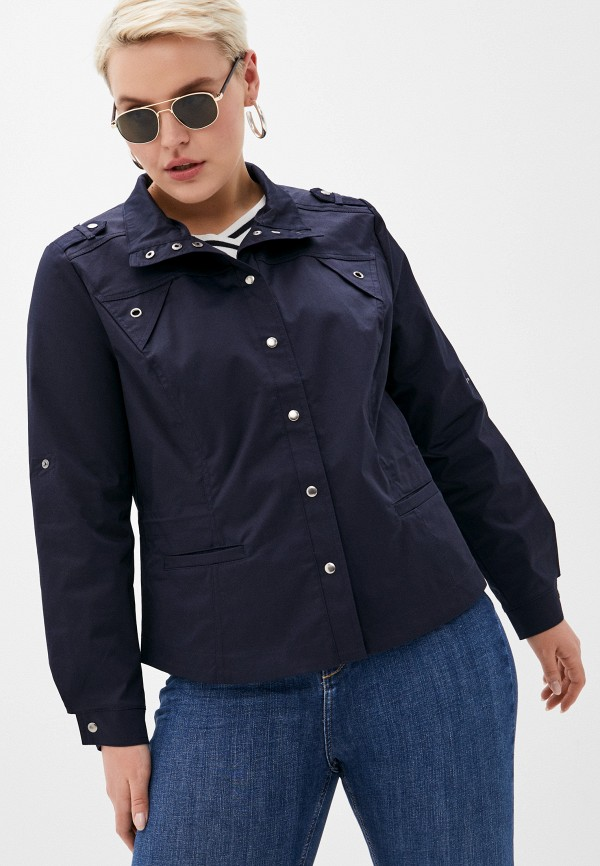 женская легкие куртка dizzyway, синяя