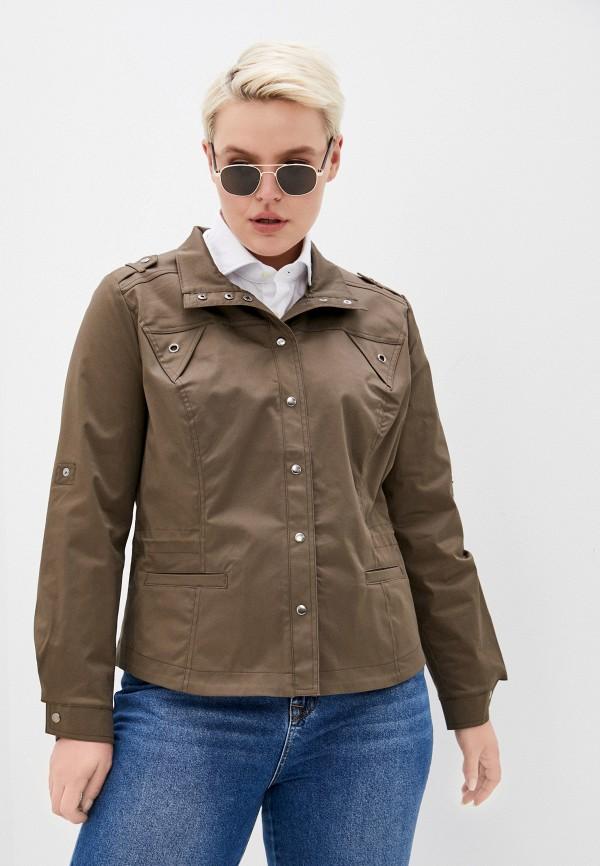 женская легкие куртка dizzyway, коричневая