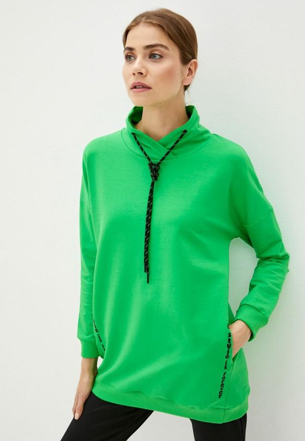 женские худи dizzyway, зеленые