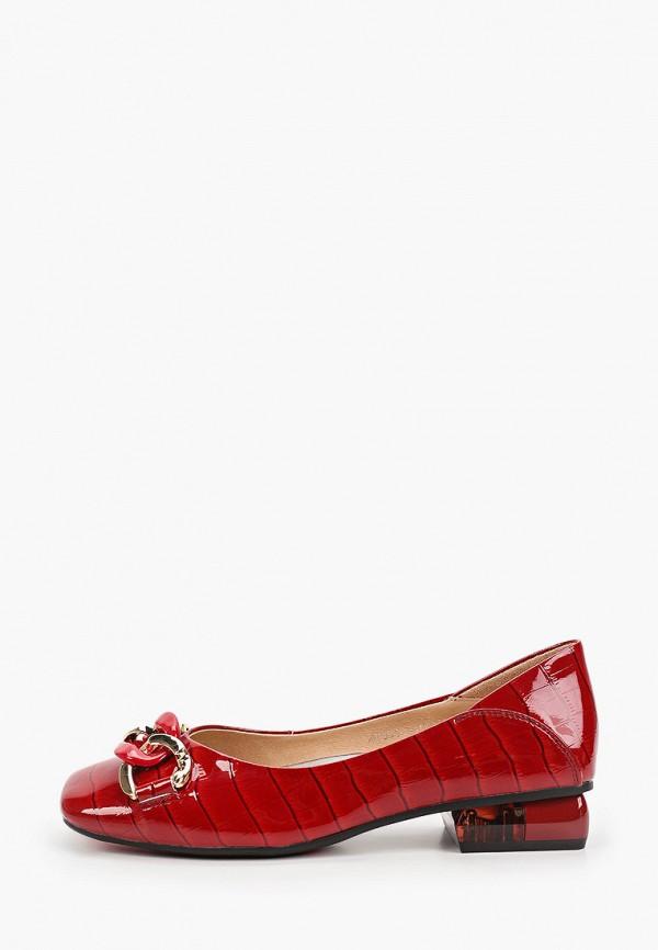 Туфли Berkonty красного цвета