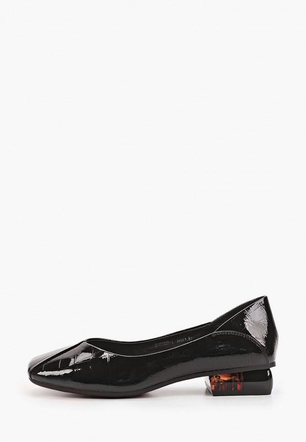 Туфли Berkonty черного цвета