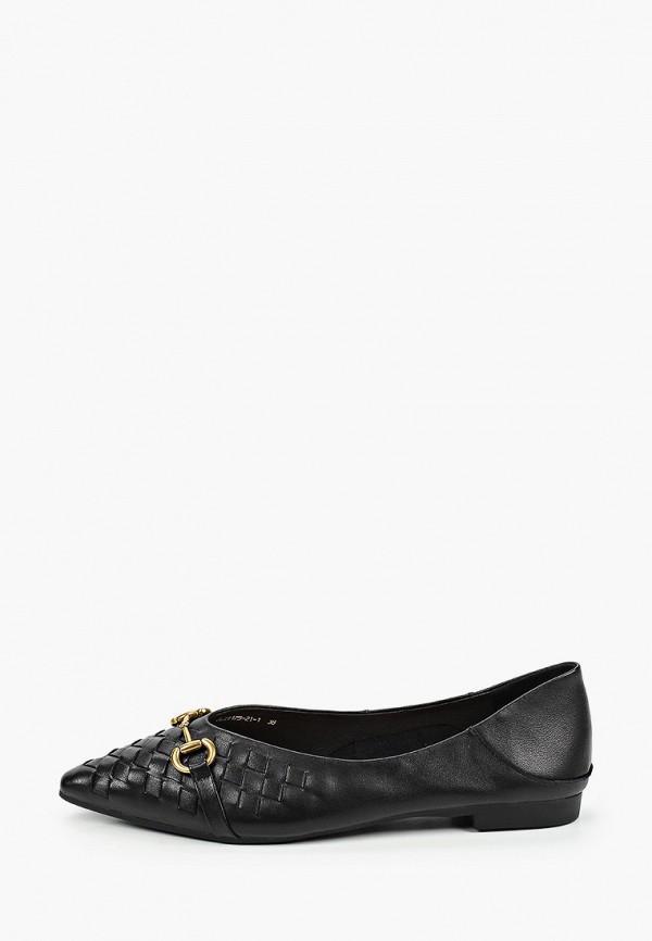 женские туфли с закрытым носом berkonty, черные