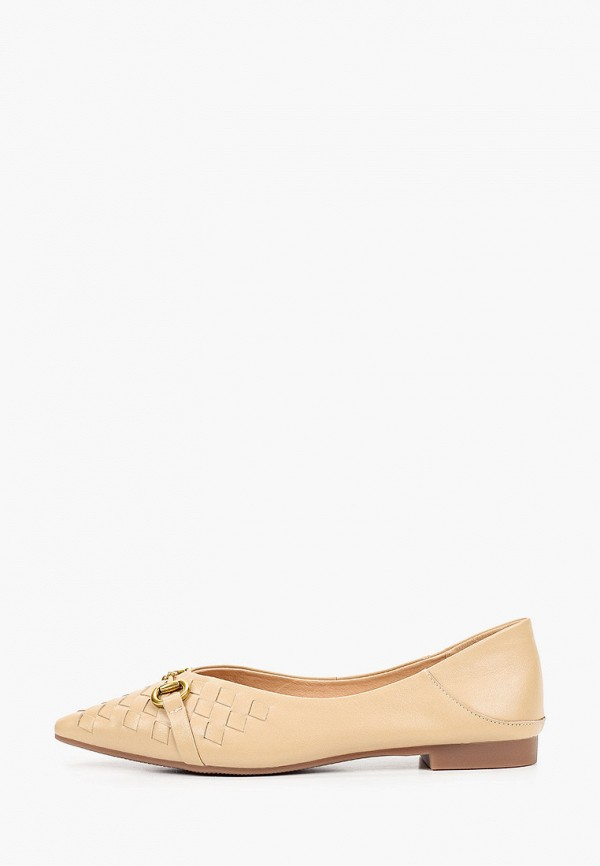 Туфли Berkonty бежевого цвета