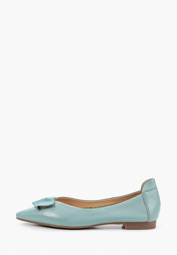 женские туфли с закрытым носом berkonty, зеленые