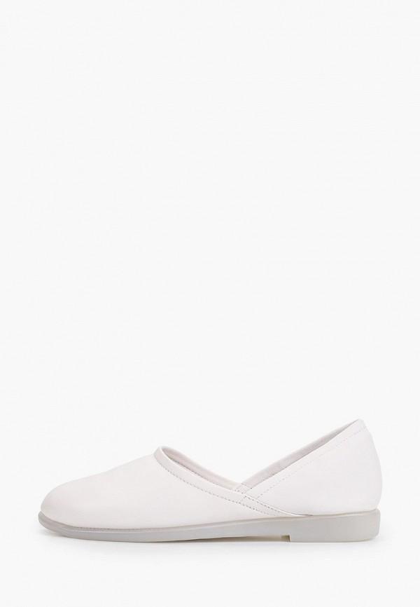 женские балетки berkonty, белые