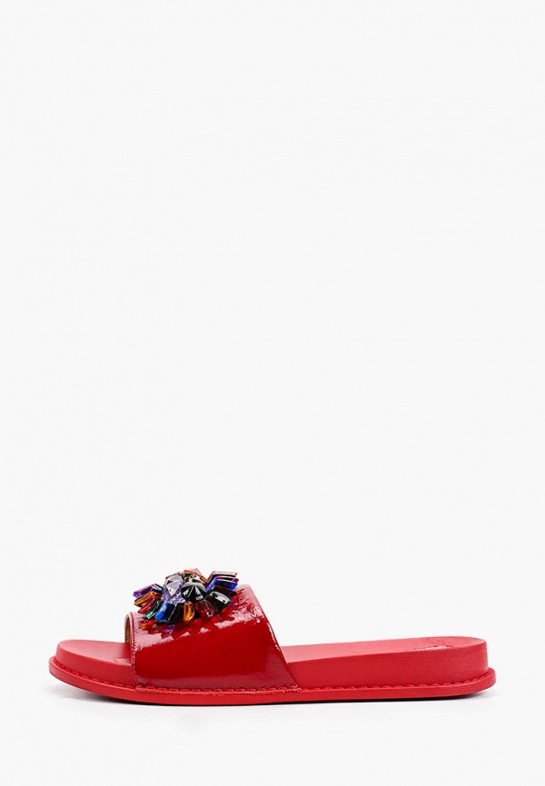 женское сабо ascalini, красное
