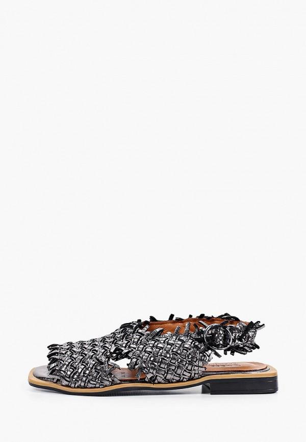 женские сандалии ascalini, серебряные