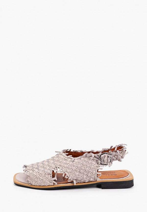 женские сандалии ascalini, серые