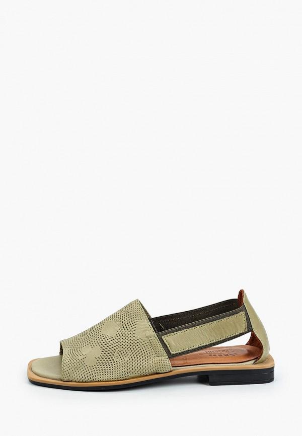 женские сандалии ascalini, зеленые