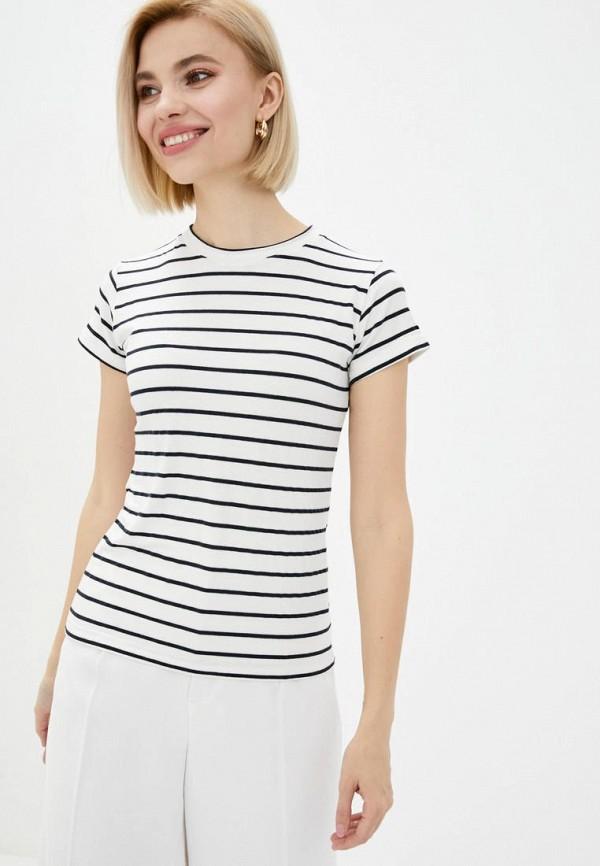женская футболка vergans, белая