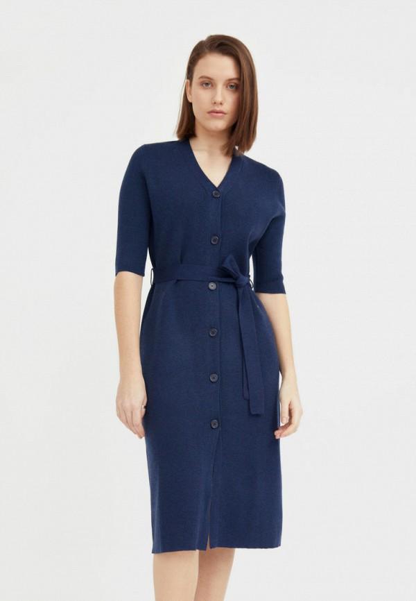 женское платье-свитеры finn flare, синее