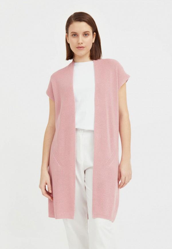 женский кардиган finn flare, розовый