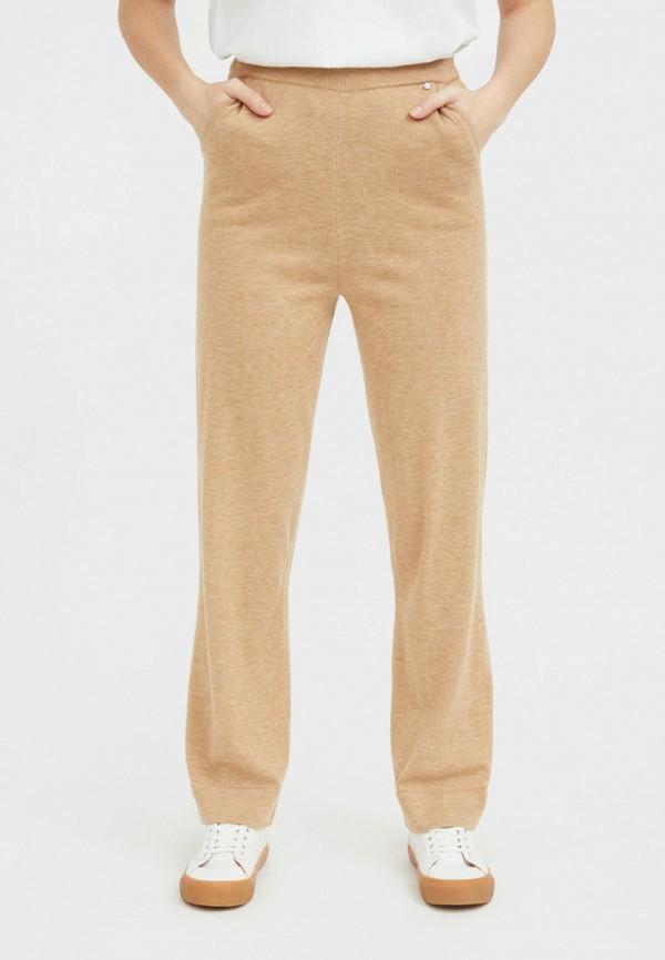 женские повседневные брюки finn flare, коричневые