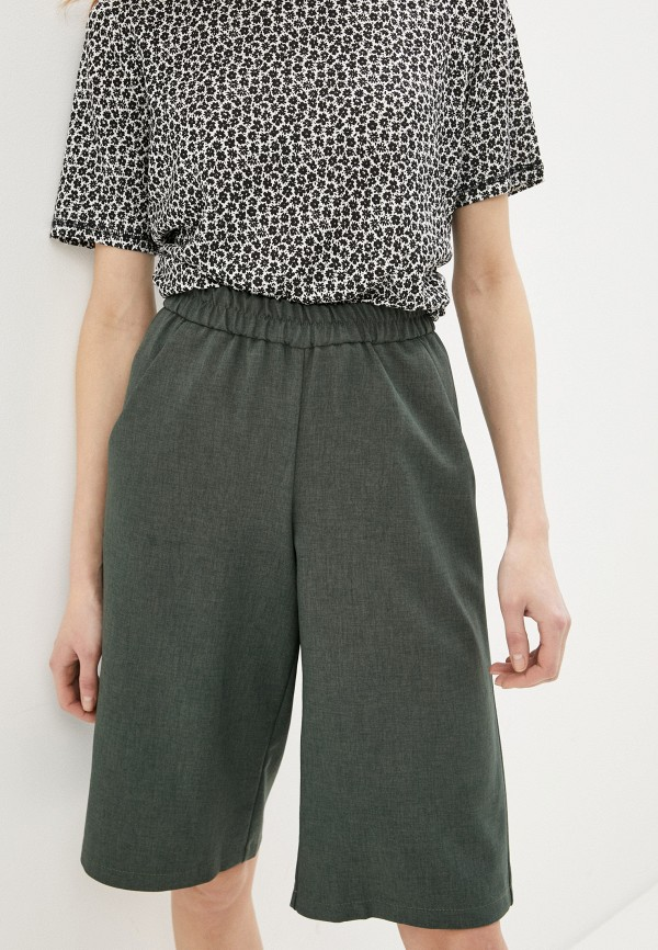 женские повседневные шорты baon, хаки