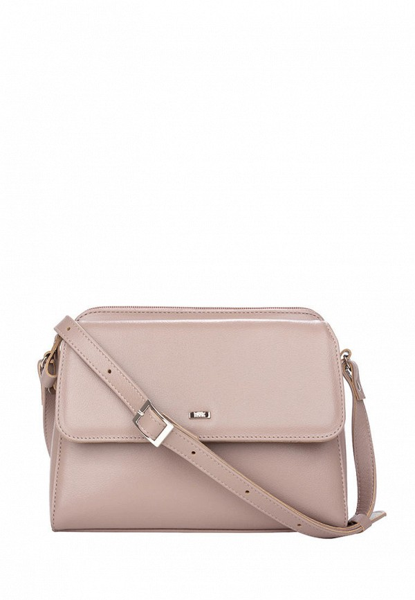 женская сумка с ручками esse, бежевая