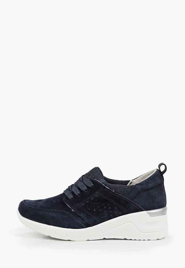 женские низкие кроссовки zenden comfort, синие
