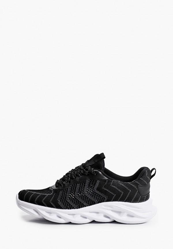 женские низкие кроссовки zenden active, черные