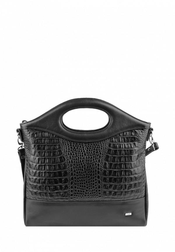 женская сумка с ручками esse, черная