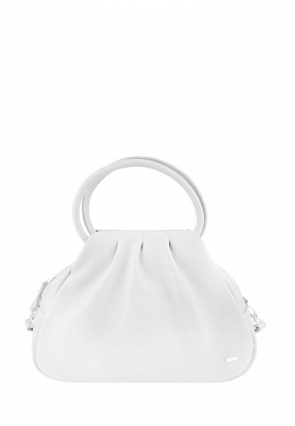 женская сумка с ручками esse, белая