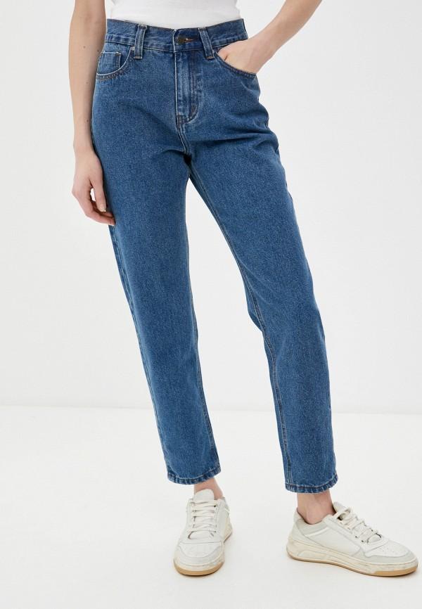 женские джинсы-мом запорожец heritage, синие