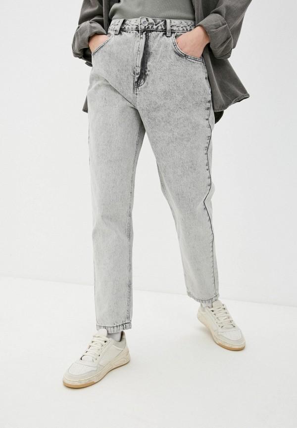 женские прямые джинсы o'stin, серые