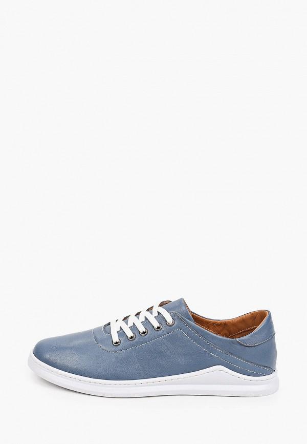 женские низкие ботинки thomas munz, голубые