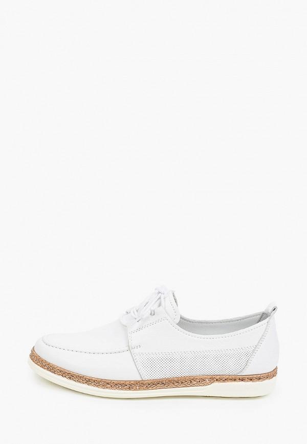 женские низкие ботинки thomas munz, белые