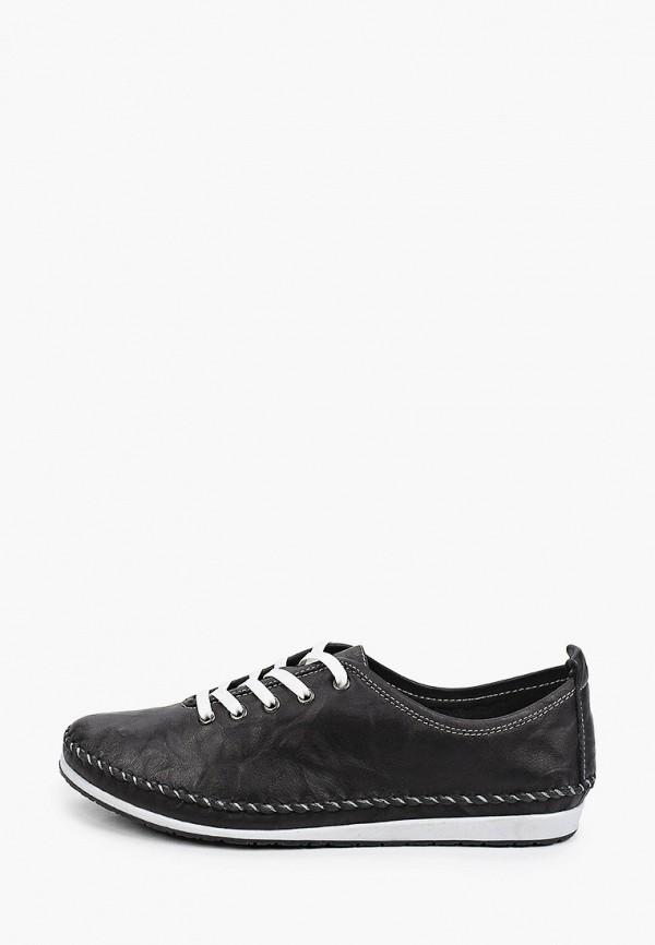 женские низкие ботинки thomas munz, черные