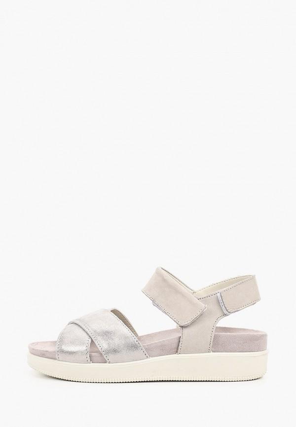 женские сандалии imac, серые