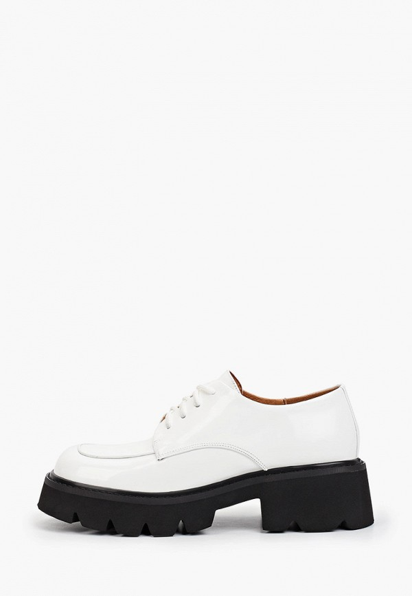 женские низкие ботинки lera nena, белые