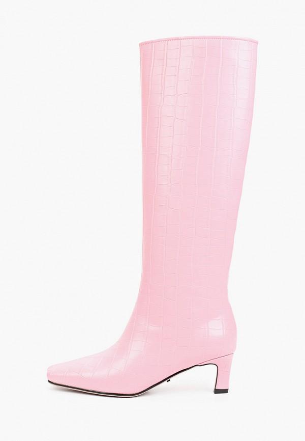 женские сапоги lera nena, розовые