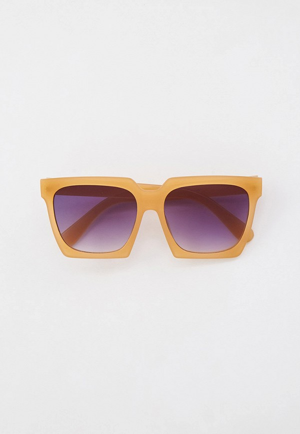 женские квадратные солнцезащитные очки dorogobogato, бежевые