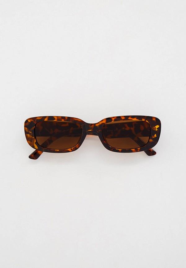 женские квадратные солнцезащитные очки dorogobogato, коричневые