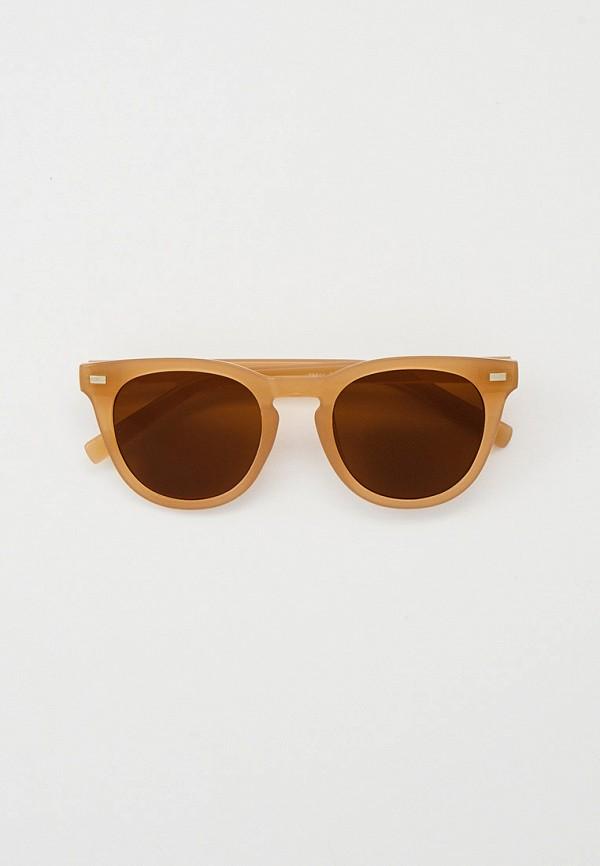 женские круглые солнцезащитные очки dorogobogato, бежевые
