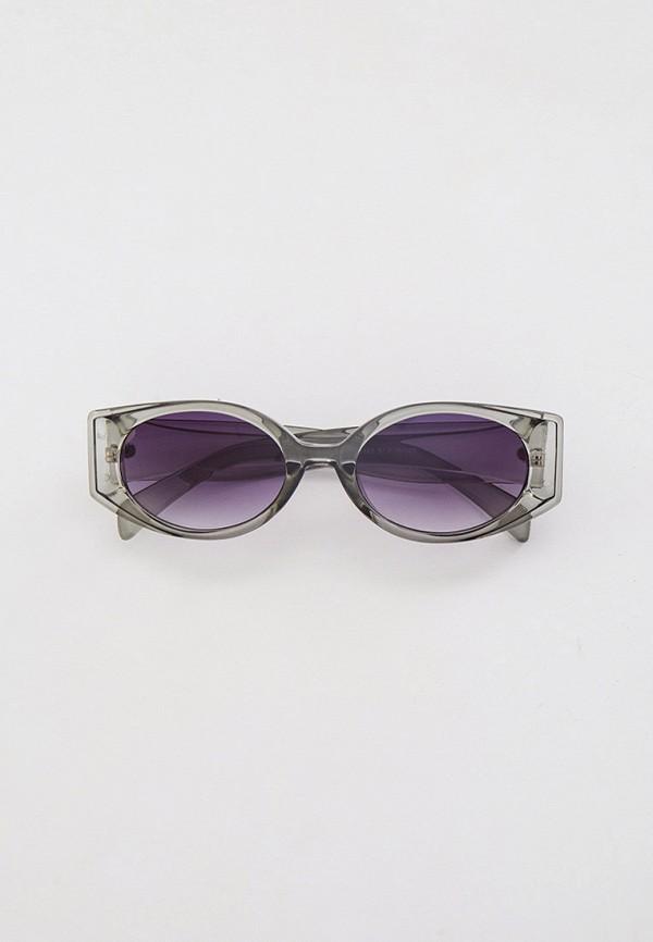 женские круглые солнцезащитные очки dorogobogato, серые