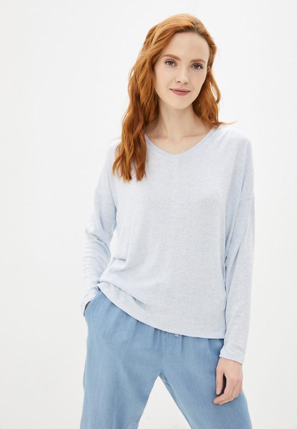 женский пуловер baon, голубой