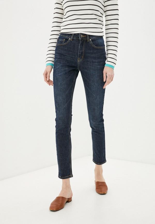 женские джинсы скинни baon, синие
