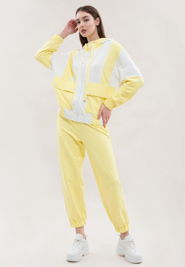женский спортивный костюм maxa, желтый