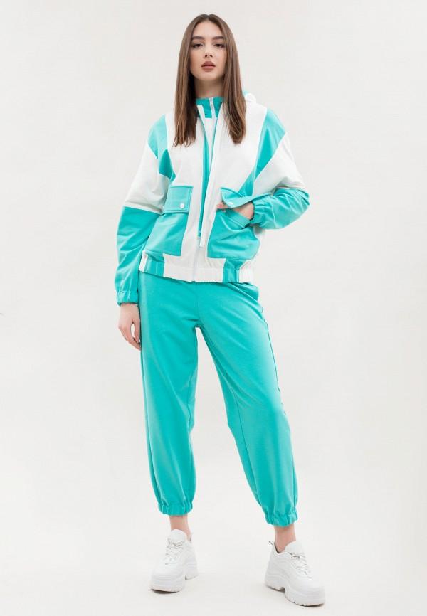 женский спортивный костюм maxa, голубой