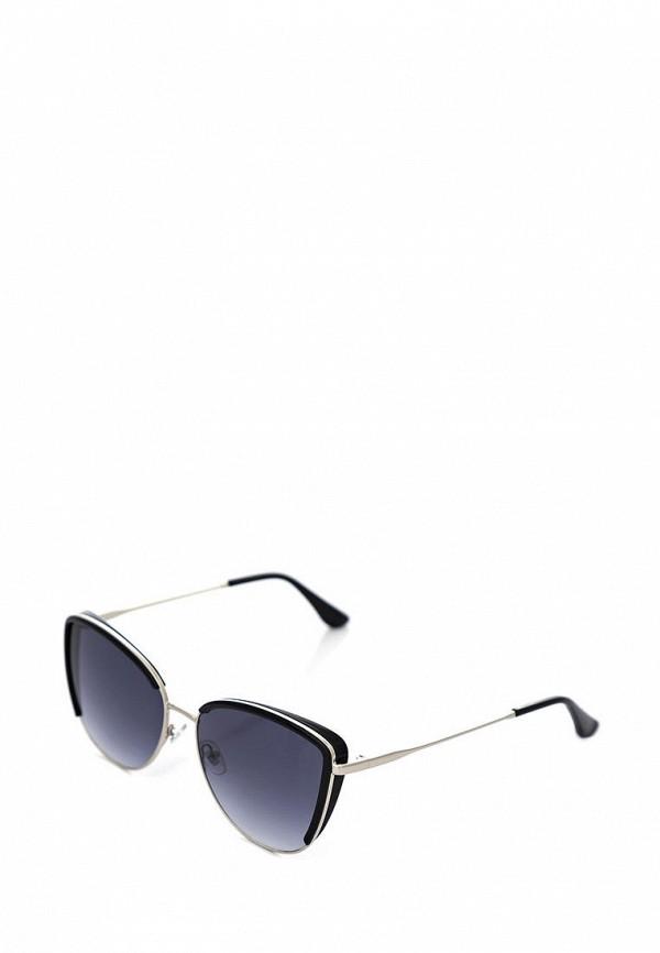 женские солнцезащитные очки luckylook, серебряные