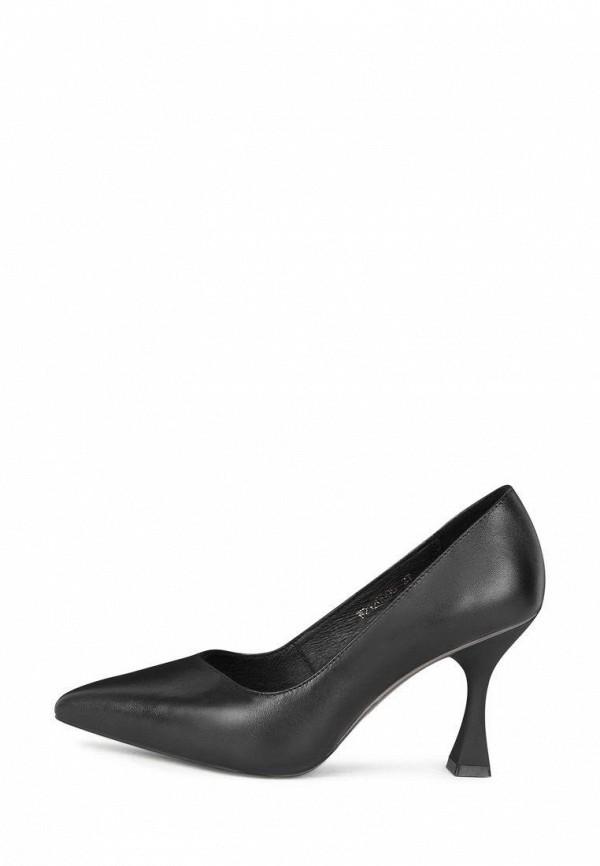 женские туфли-лодочки pierre cardin, черные