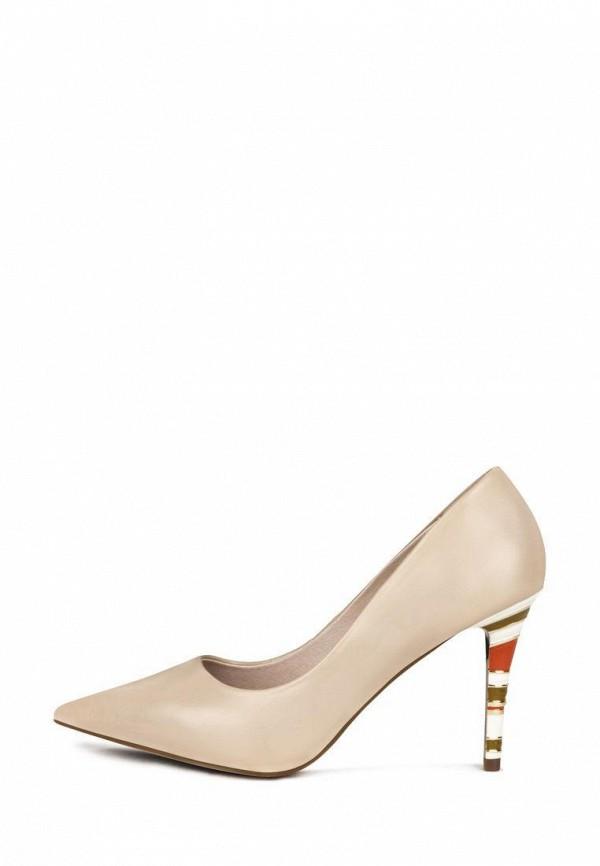 женские туфли-лодочки pierre cardin, бежевые
